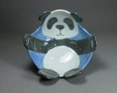 Panda Bowl - Light Blue