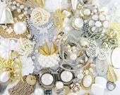 DIY Crafting Kit - Over 1 Pound - Multiple Projects - Wedded Bliss