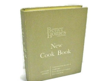 Vintage 1965 Better Homes and Gardens Souvenir Edition New Cook Book