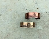 Detroit Michigan cuff bracelet | Detroit | Michigan bracelet | copper cuff | brass cuff