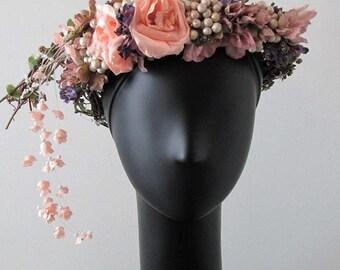 Mucha Floral Crown
