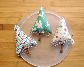 Nordic Christmas Trees Ornaments Decorations