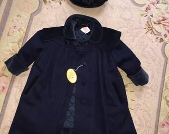 Vintage Girl's Princess Little Nugget Coat