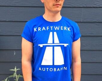 Kraftwerk Autobahn T-Shirt - Blue