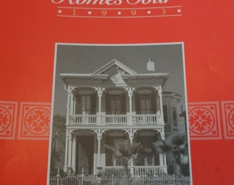 1993 19th Annual Historic Homes Tour Galveston Texas Trube Castle, Jetta Davis, Hodson Home, Ripper Cottage, Galveston Historical Foundation