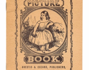 Antique 1800's Picture Book for Children