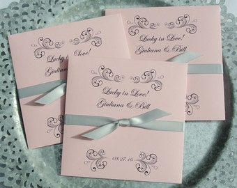 Wedding Favors - Rehearsal Dinner Favors - Engagement Party Favors - Lottery Ticket Wedding Favors - Wedding Favors - Wedding Guest Favors