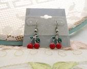 Sweet Cherry Retro Earrings