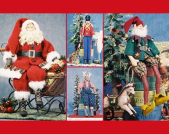 Mailed Cloth Doll Pattern Special Christmas Collection Group