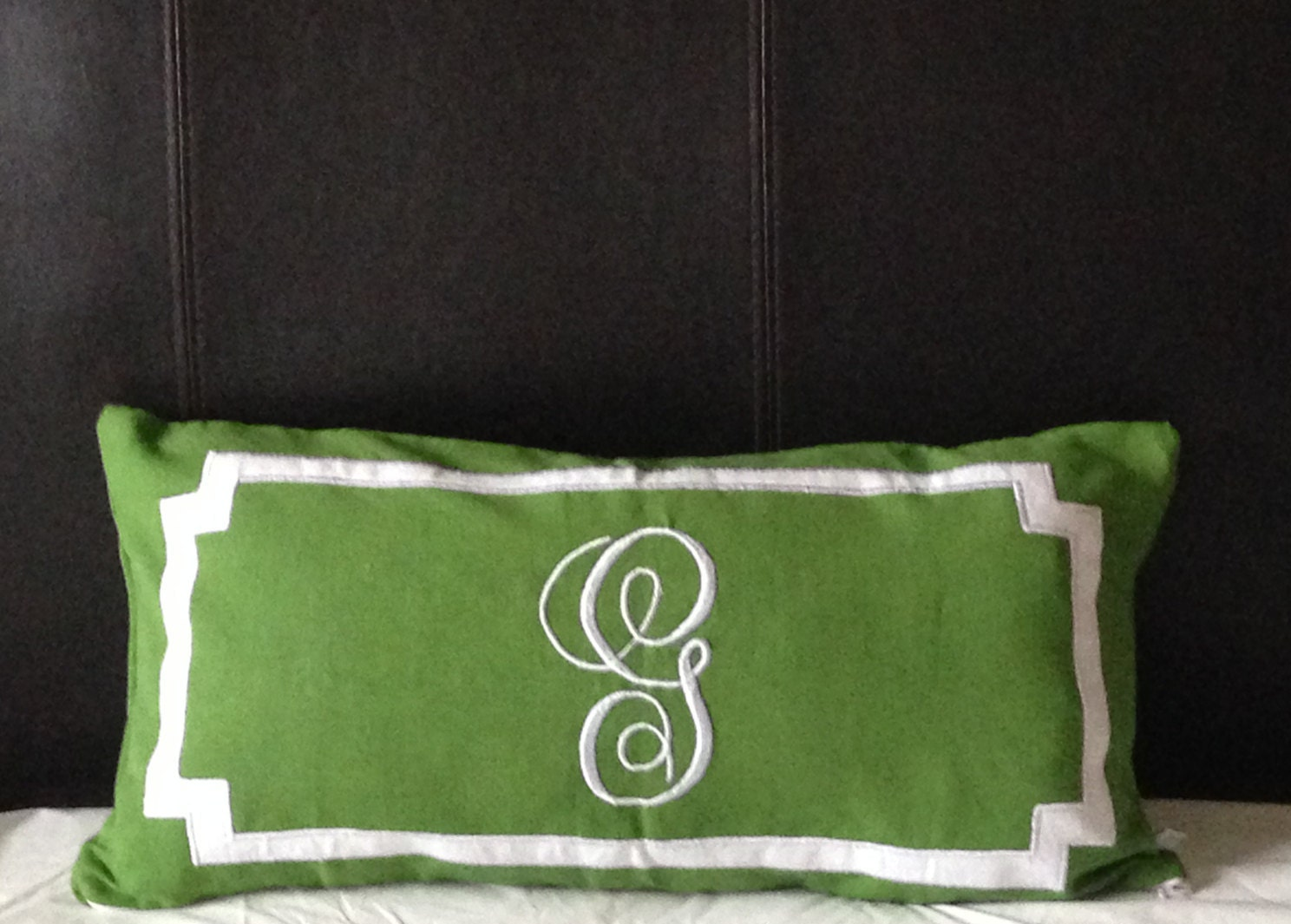 Long Decorative Lumbar Pillow : Personalized Long Lumbar Pillow Cover Bedroom by Snazzyliving