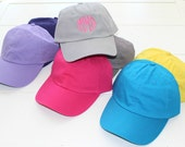 Monogrammed Baseball Cap Personalized Hat
