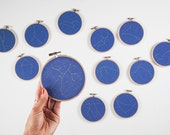 Zodiac Constellation Hoop Art Set- One set only!