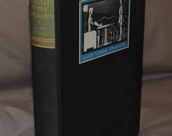 Land Under England - a unique vintage fantasy title by Joseph O'Neill, first edition from 1935 - Free US Shipping