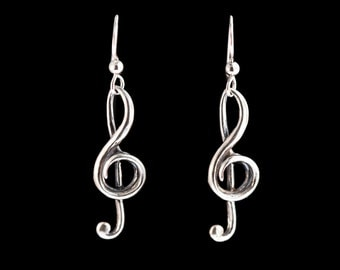 Music Jewelry Treble Clef Music Earrings Music Note Jewelry Gift For Musician Musical Notes Bass Clef Gift For Music Teacher Rockstar