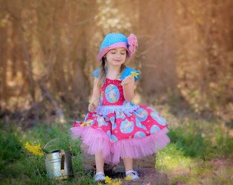 Little Girl Fancy Party Dresses - Girls Pageant Dress - Little Girl Dresses - Birthday Dress - Toddler Dress - sizes 6 months to 8 years
