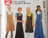 McCall's 9028 - Easy 2-Hour Jumper Dress & Top Pattern - Several Styles - Easy to Sew - Beginner, Juniors, Teens - Size 10, 12, 14 - UNCUT