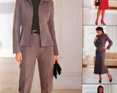 McCall's 2923 - Classy Ladies' Office Separates - Suits - Business - Skirts, Jacket, Pants, - Size 10, 12, 14 - Bust 32, 34, 36 - UNCUT