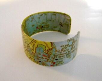 "Camden Maine cuff bracelet - 1"" - gift boxed"