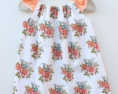 Aunt Edna Flutter-Sleeve Baby Toddler Girls' Dress and Bloomer Set