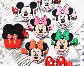 Magical Mouse Clippie , Choose Your Favorite Themed Hair Clip