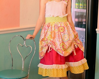 Sweet Treats Dress Collection ~ Full of Ruffles~ Birthday Dress~ Full of Color in toddlers, Girls, Tweens - sizes 12 mos to 16