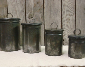 Nesting TIN CANISTER Set