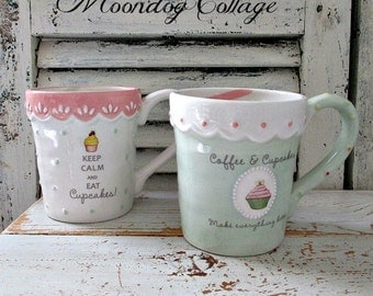 WHiMSiCaL CoFFee & CuPCaKe MuGs