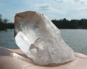 Brazilian Quartz #2 ~ Quartz Point, Reiki, Metaphysical, Chakra, Healing Crystal, Genuine Quartz, Quartz Wand, Gypsy, Natural, Raw Crystal