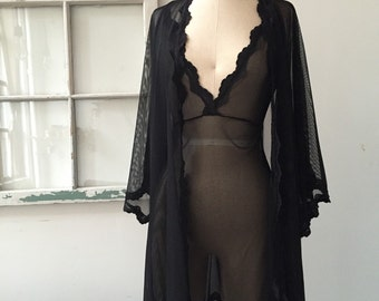 Bride to Be Black Lace Lingerie Slip