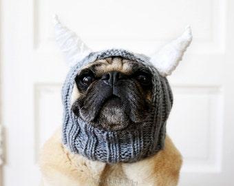 Little Beastie Dog Hat - Pet Clothing - Dog Clothing - Pug Hats - Dog Hats - Pug Hat - Dog Costume