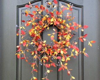Fall Wreaths, Autumn Leaves, Autumn Decor, Front Door Wreaths, Holidays, Oktoberfest, Harvest