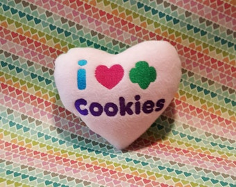 I Love Cookies Plush