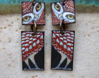 Owl Totem Earrings
