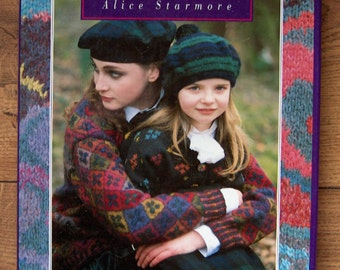 vintage 1992  Alice Starmore knitting book CELTIC Collection knitting patterns 25 designs