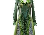 Long boho Sweater COAT woodland patchwork eco fashion. Size Small/Medium. Ready to ship
