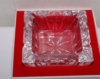 Cristal d Arques Lead Crystal Ashtray France