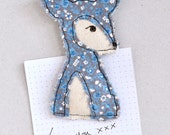 Cute Embroidered Deer Magnet