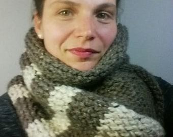Super wide wrap scarf