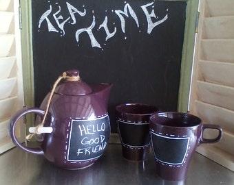 Tea for 2 Chalkboard
