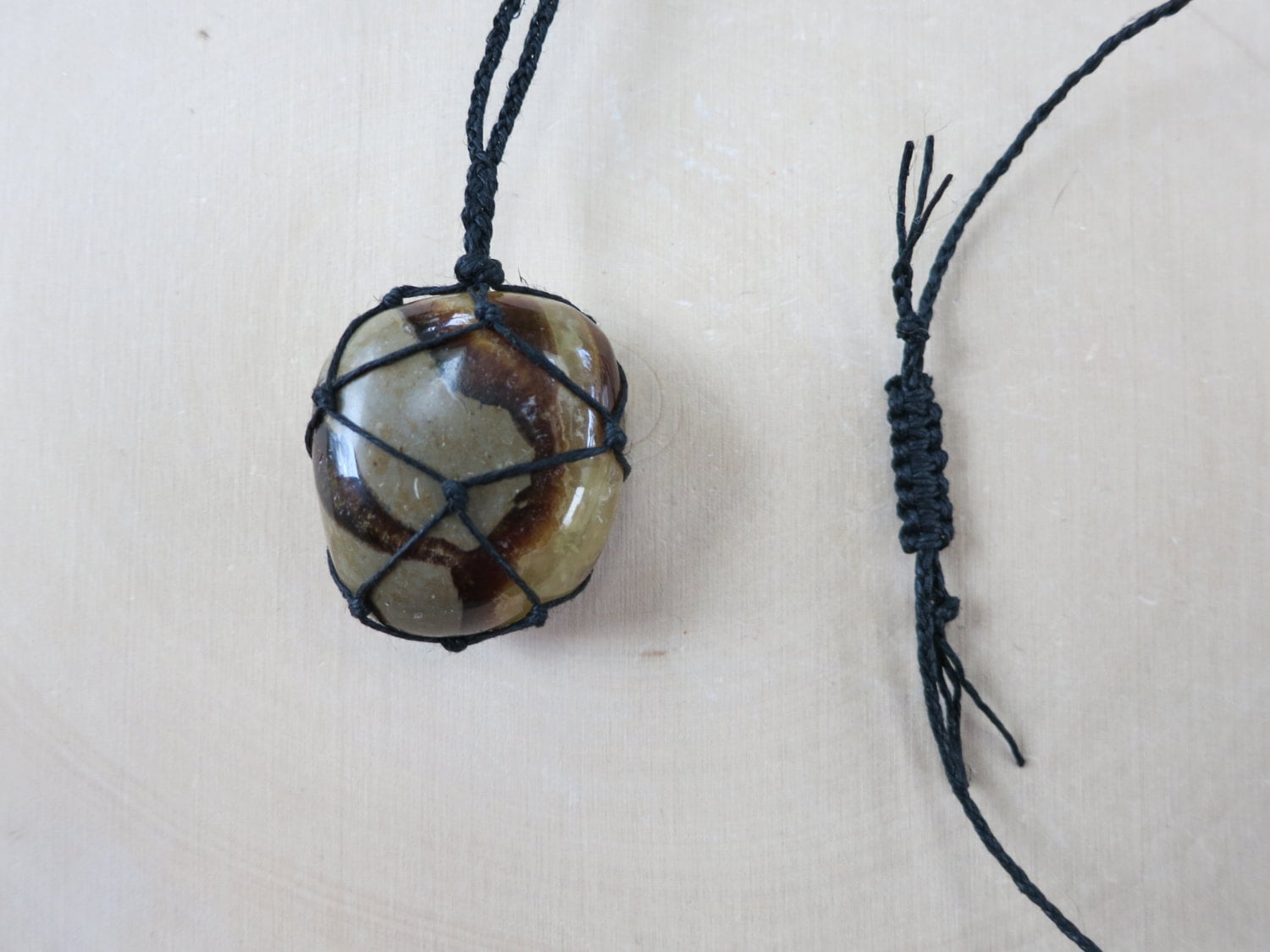 earthy septarian necklace jewelry healing