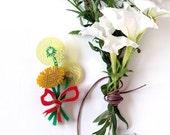 Dandelion Wishes Brooch