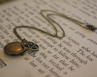 Supernatural Necklace - Sea Salt Protection Locket