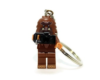 Bigfoot Keychain - made from Series 14 LEGO (r) Minifigure