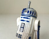 Vintage Star Wars Figure R2-D2 with Launching Lightsaber - Star Wars Droid, 1990's Kenner Star Wars Kids Toy - Ready to Gift, Gift For Him
