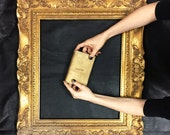 Bridesmaid Gift Idea, Rustic Wedding Gift Ideas , Wedding Giveaways , Gold Leather Passport Cover, Gold Leather Cases