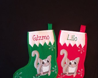 Sugar Glider Stocking