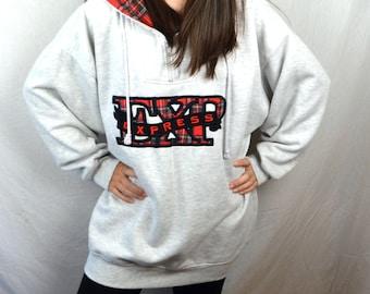 Vintage 90s Express Campagnie Internationale Athletique Sweatshirt Hoodie