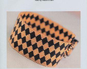 Peyote Bracelet Pattern -Diamond Peyote Bracelet Pattern