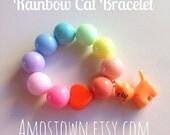 Rainbow Cat Bracelet