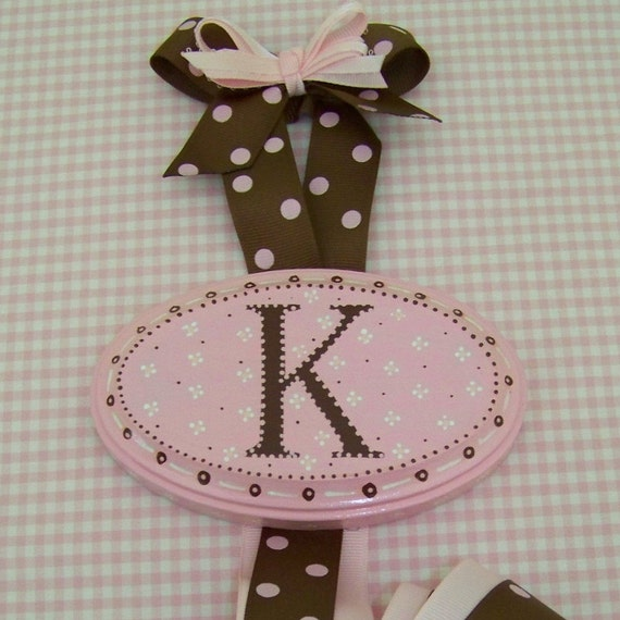 Personalized Hair Ribbon Hanger